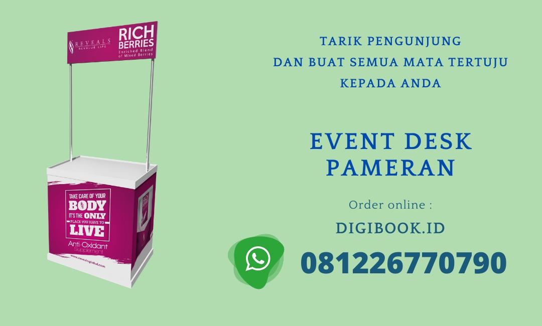 Event Desk Promosi Pameran Murah Digibook Promotion