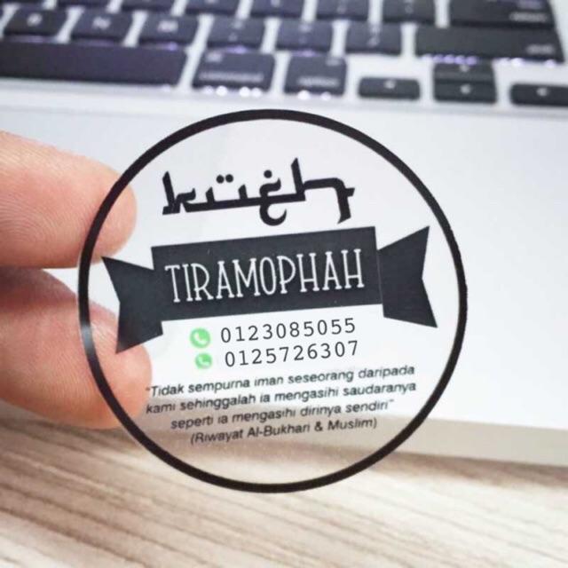Mengenal Jenis stiker transparan, kelebihan dan metode pencetakannya