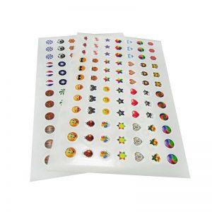 Sticker Label Kemasan bentuk lembaran