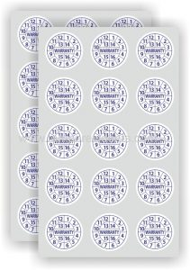 stiker scurity label pecah telur