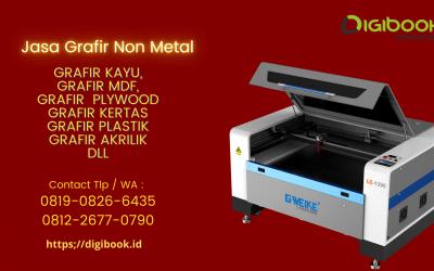 Jasa Grafir – Jasa Marking – Jasa Laser Cutting Non Metal Semarang