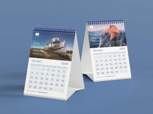 cetak kalender meja online