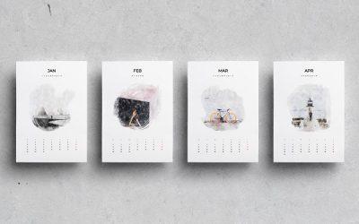 Cetak Kalender 2021 Online di Surakarta