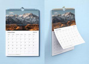 cetak kalender Dinding 2021