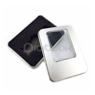 Box Packaging Metal Flashdisk PG 650 Digibook Promotion