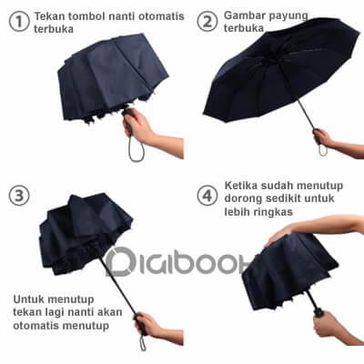 Cara Menggunakan Payung Lipat Otomatis Digibook Promotion