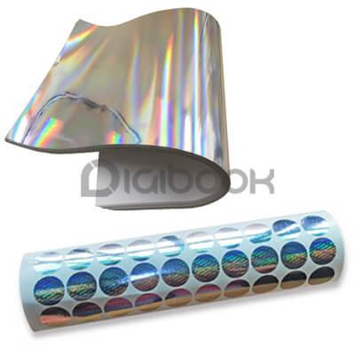 Cetak Stiker Hologram 2 Digibook Promotion