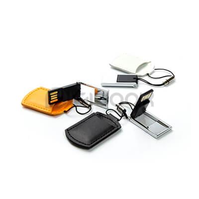 Detail Flashdisk Leather FDLT28 Digibook Promotion