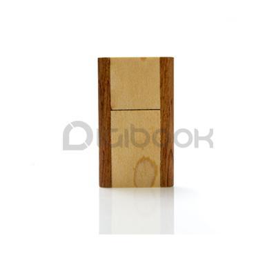 Detail Flashdisk Wood FDWD20 Digibook Promotion