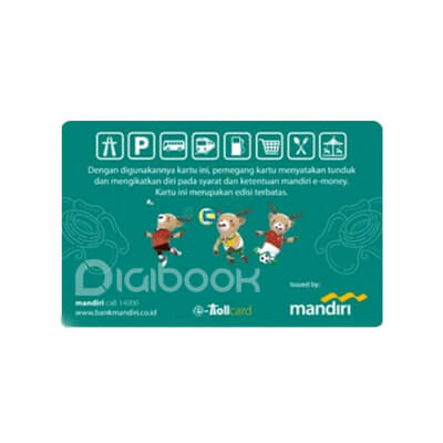 E Toll Mandiri Digibook Promotion
