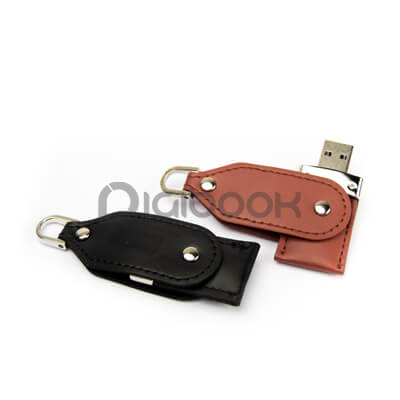 Flashdisk Leather FD 610 Digibook Promotion