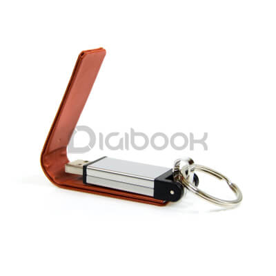 Flashdisk Leather FD605 Digibook Promotion