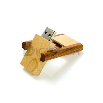 Flashdisk Wood FDWD20 Digibook Promotion