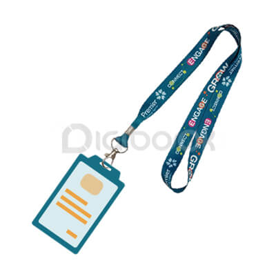 ID Card Tali Lanyard Digibook Promotion
