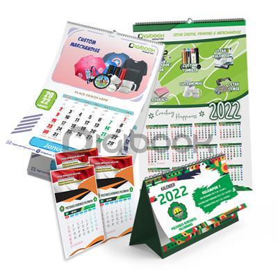 Kalender Cetak Offset 1 Digibook Promotion
