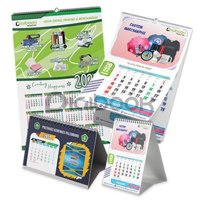 Kalender Cetak Offset 2 Digibook Promotion