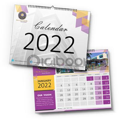 Kalender Dinding Spiral Landscape 2 Digibook Promotion