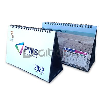 Kalender Meja Linen 1 Digibook Promotion