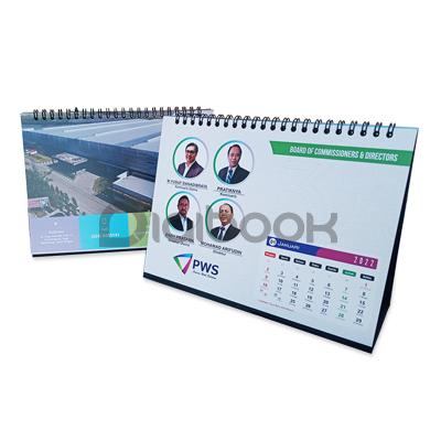 Kalender Meja Linen 2 Digibook Promotion