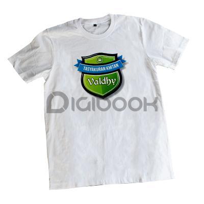 Kaos Satuan Sablon DTF Digibook Promotion