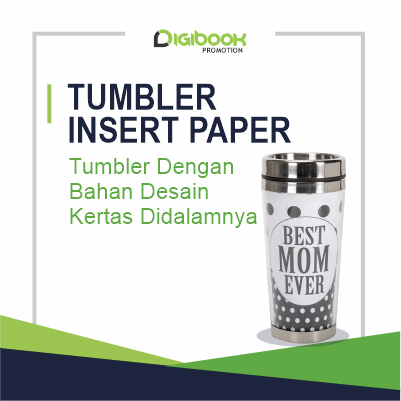 Landing Page Tumbler Insert Paper Digibook Promotion
