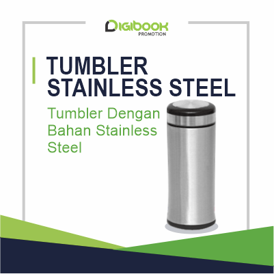 Landing Page Tumbler Stainless Steel Digibook Promotion