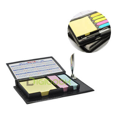 Memo Leather Post It Pen N 816 Digibook Promotion