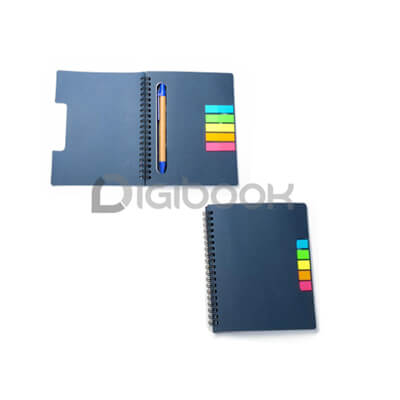 Notebook Colourful Plus Post It N 801 Digibook Promotion