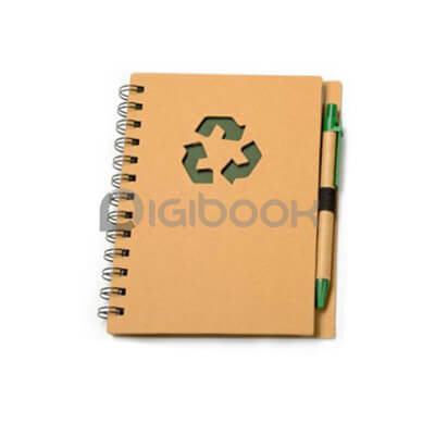 Notebook Recycle Post It Digibook Promotion