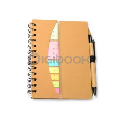 Notebook Ruler Post It Digibook Promotion