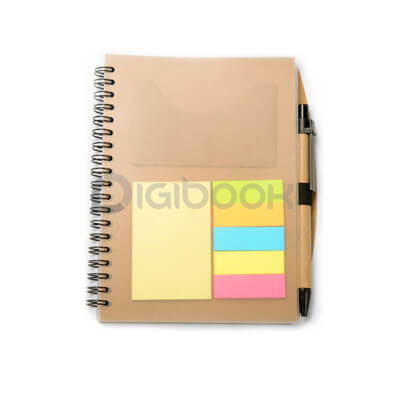 Notebook Transparan Post It Digibook Promotion