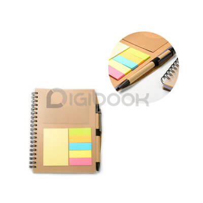 Notebook Transparan Post It N 807 Digibook Promotion
