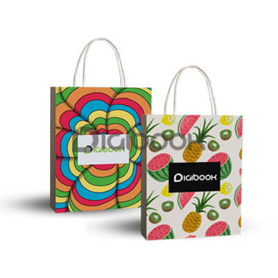 Paper Bag Full Printing 2 Digibook Promotion