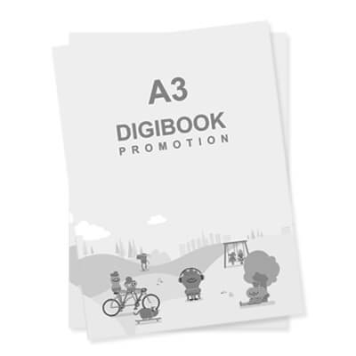 Print On Demand A3 Hitam Putih Digibook Promotion