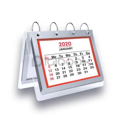 Produk Kalender Plakat Acrylic 1 Digibook Promotion