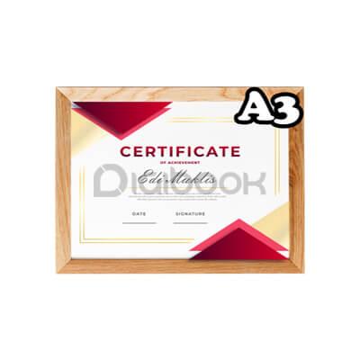 Produk Sertifikat A3 1 Digibook Promotion