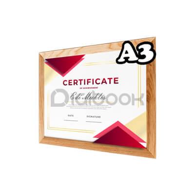 Produk Sertifikat A3 2 Digibook Promotion