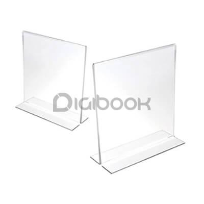 Produk Tent Card Acrylic 2 Digibook Promotion