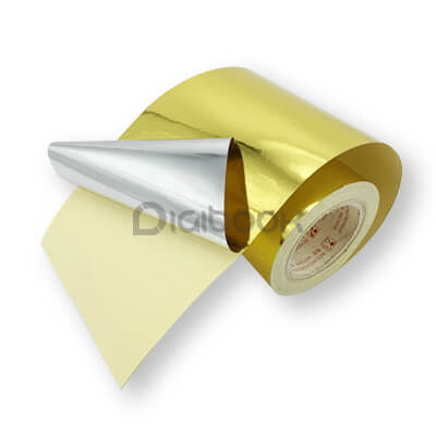 Stiker Metalized Gold Digibook Promotion