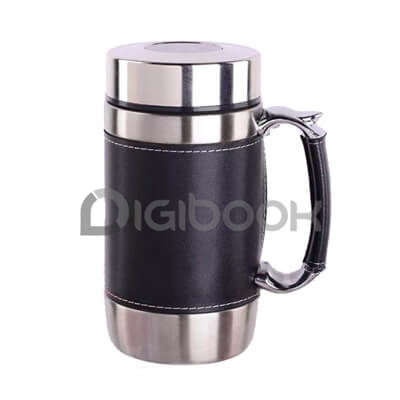 Tumbler Vacuum Leather Digibook Promotion
