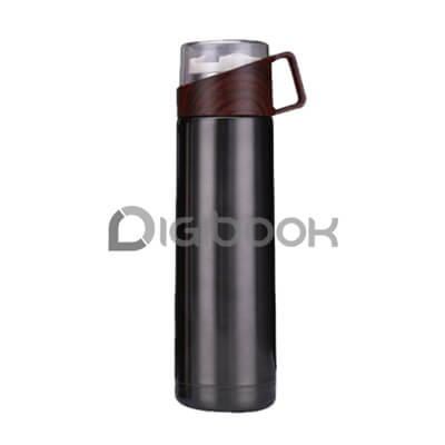 Tumbler Vacuumflask Wood Grain Digibook Promotion