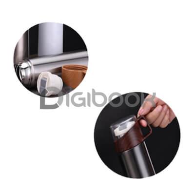 Tutup Tumbler Vacuumflask Wood Grain Digibook Promotion